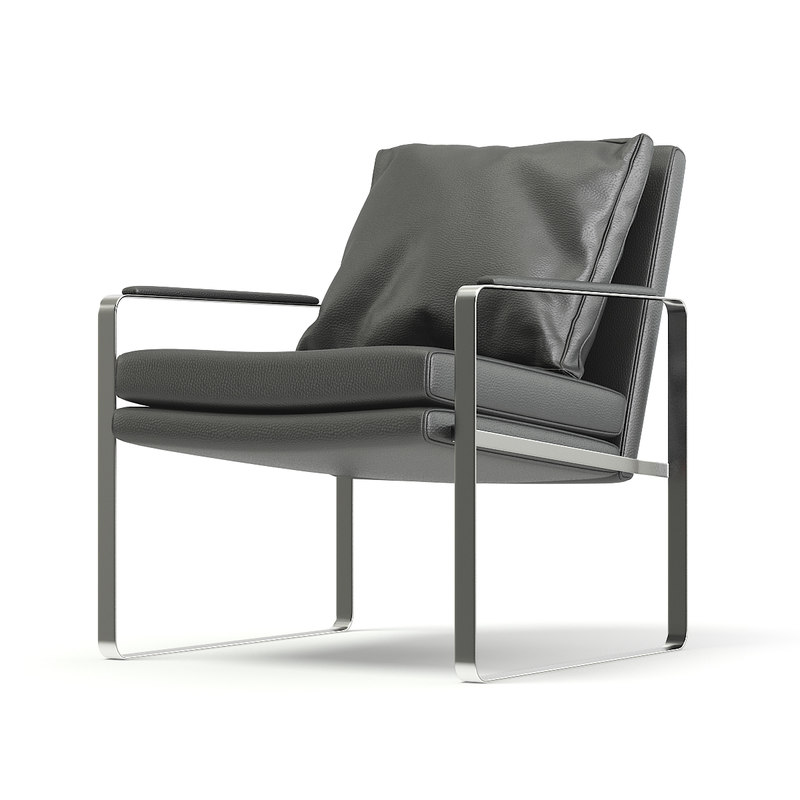 metal leather chair pillow model
