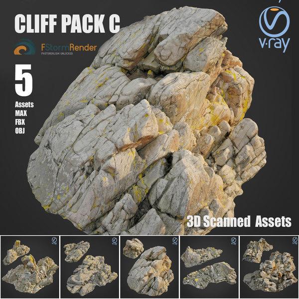 3D model cliff pack c