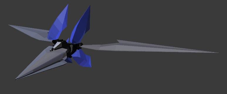 star fox assault arwing model