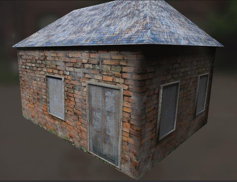 house mode 3D