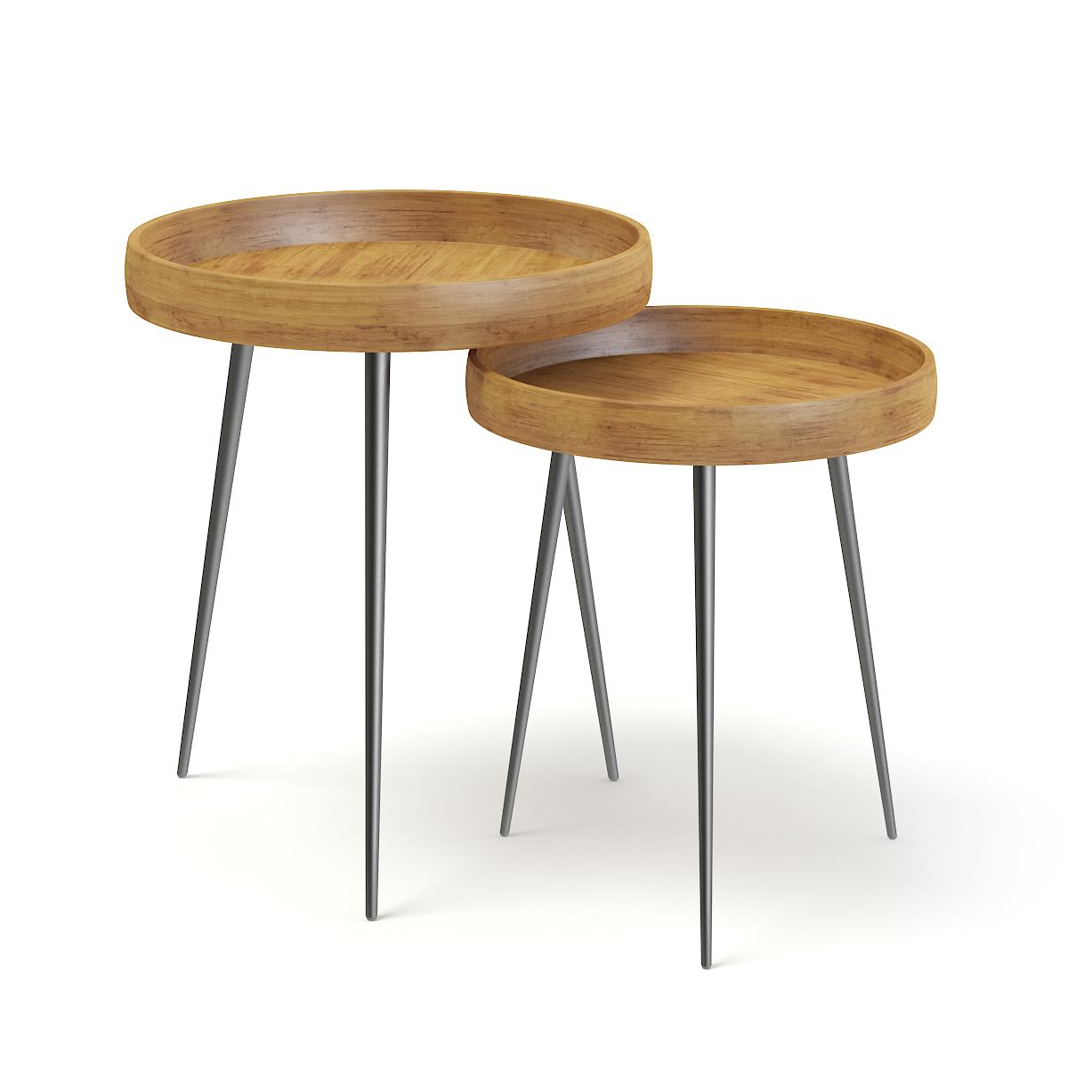 Small Tables Model Turbosquid 1269501