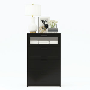 chest drawers 4 ikea 3D