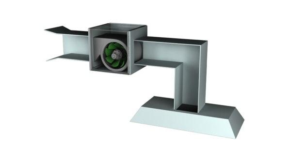 kitchen exhaust fan 3D model