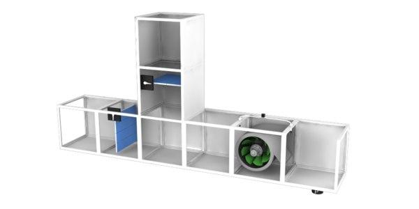 pressurization fan 3D model