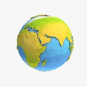 3D model earth pol