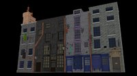 harry potter diagon alley 3D model