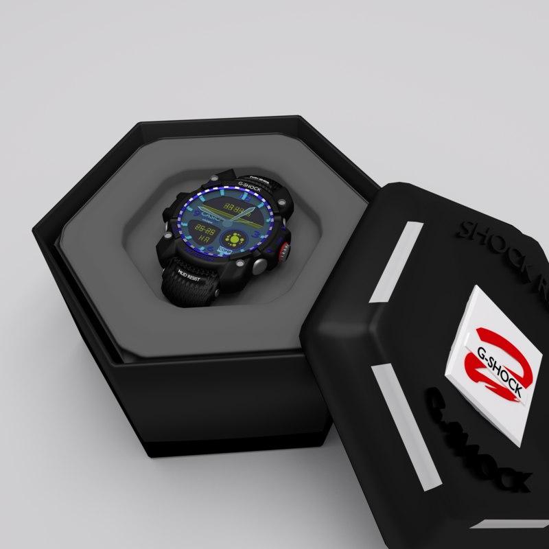 - clock 3D model