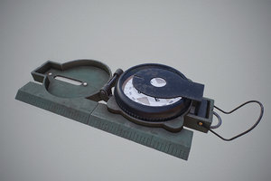 3D military compass