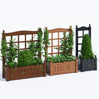 3D stain classic planter
