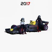 Formula 1 car 2017