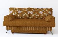 3D model fabric sofa