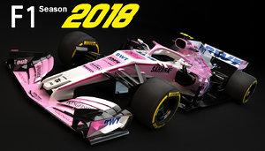 force india vjm11 2018 model