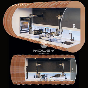 kitchen robot robo 3D model