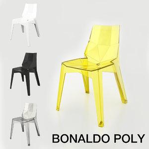 3D chair bonaldo