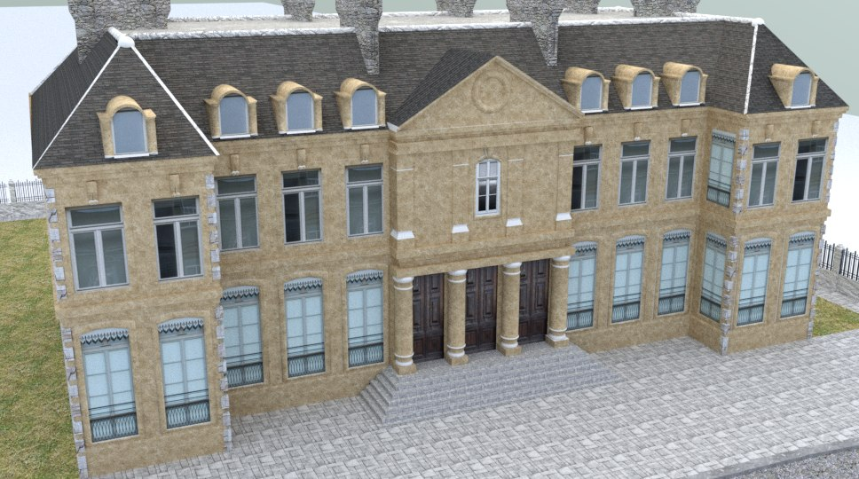eylsee palace 3D model