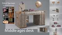 middle ages desk