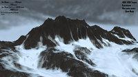 snow mountain 3D