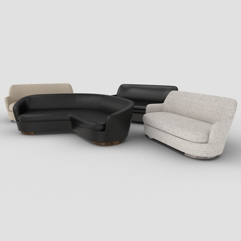 jacques sofas 3D