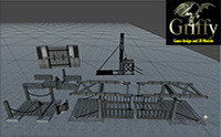gated unity 3D