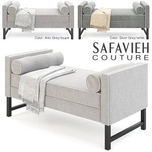 safavieh banquet 3D model