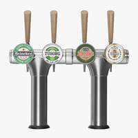beer tap 3D model