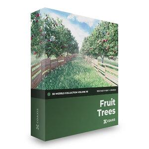 3D fruit trees volume 95