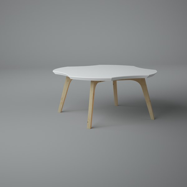 coffe table 3D