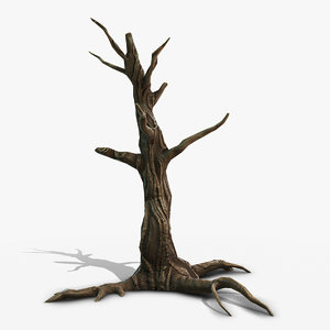 swamp dead tree 3D model