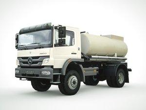 3D mercedes atego fuel tank