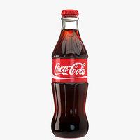 coca cola glass bottle model