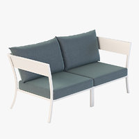 Vermobil Porto Cervo Outdoor Love Seat Sofa