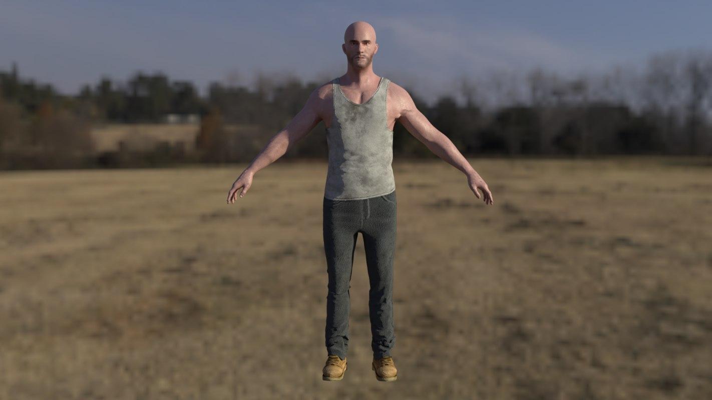 generic male 3D