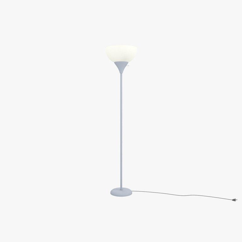 3D lamp mainstay floor light