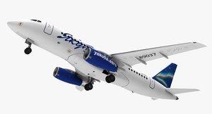 3D aircraft yakutia