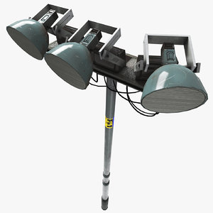 street flash light 3D model