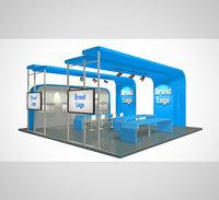 stand design 001 3D model