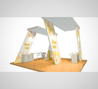 3D stand design 002 model