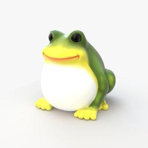 big frog 3D model