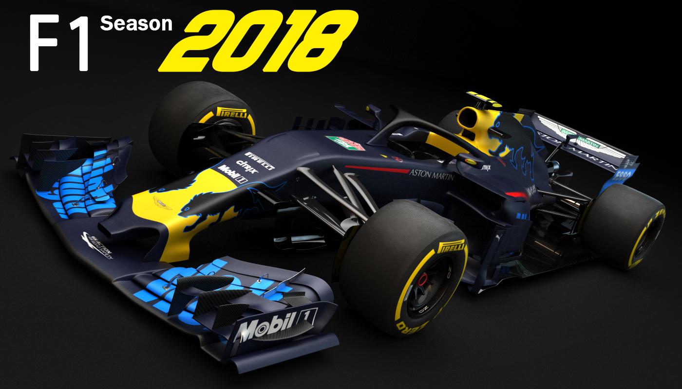 3D f1 nw14 2018 model