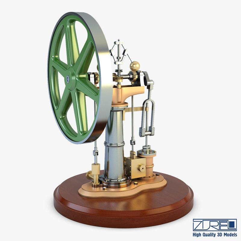 3D benson vertical engine