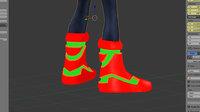 rocket boots sci fi 3D model