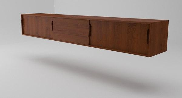 vintage sideboard wall model