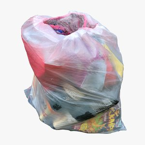 3D garbage bag