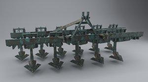 3D plough