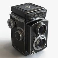 3D yashica camera