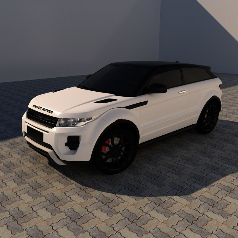range rover 3D