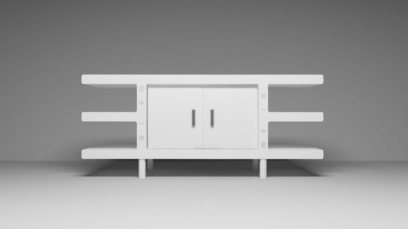 sideboard furnishing 3D model