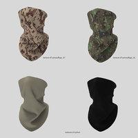 3D bandana shawl