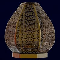 lantern designed 3D