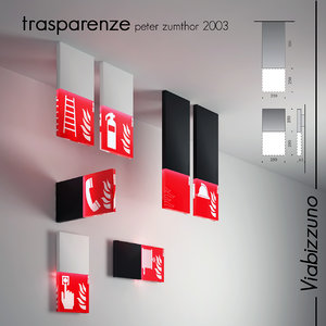 warning light trasparenze viabizzuno model